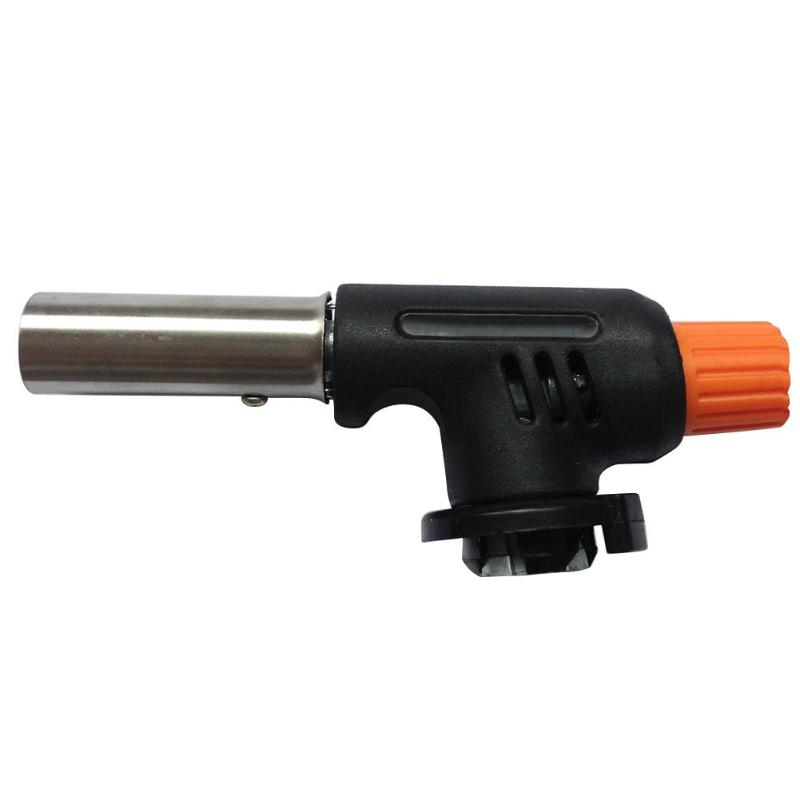 Gas Flamethrower Butane Automatic Ignition Baking Welding BBQ Camping Outdoor Hiking Fire Flame Torch 200*140*40mm