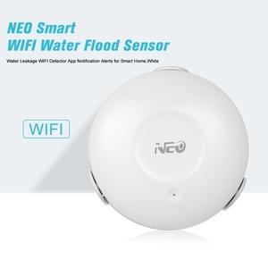 Image 5 - NEO الذكية WIFI المياه الفيضانات استشعار تسرب المياه WIFI كاشف App الإخطار التنبيهات الذكية المنزل