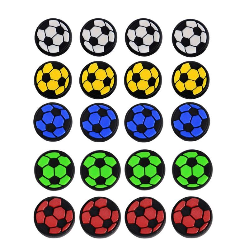 4Pcs TPU Football Game Joystick Caps Analog  Grips Cover For PS4 PS3 Xbox 360 Xbox One Controller