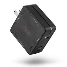 MAD GIGA USB Зарядное устройство, быстрая зарядка 3,0 45 Вт быстрой зарядки для iPhone XS/Max/XR/X/8/8 +, samsung s8/s9 штепсельная вилка стандарта США