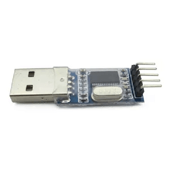 PL2303 USB UART Board (mini) PL-2303HX PL-2303 USB TO TTL Module/Drivers Are Available For Windows 98 To Windows 7 (32 Bit And