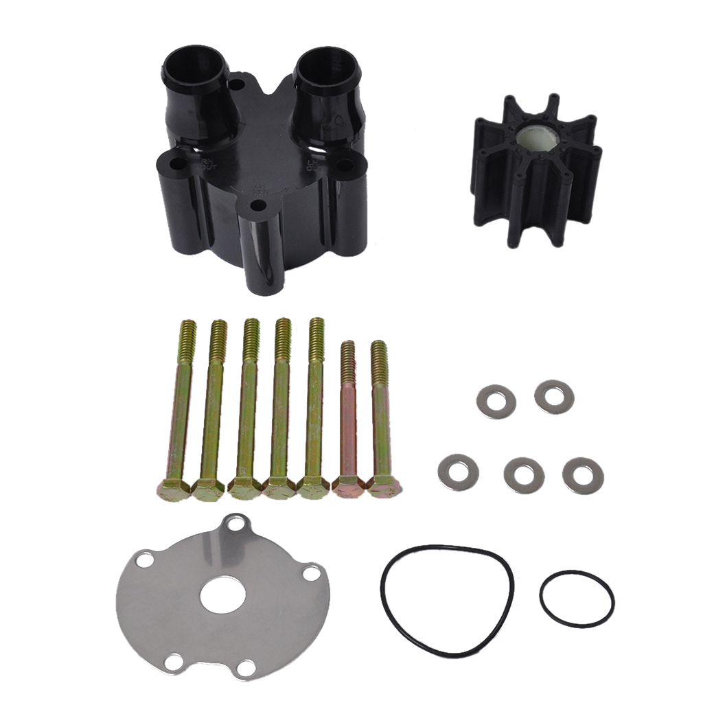 Water Pump Impeller Repair Kit w/ Housing for Mercruiser   46 807151A14-in Boat Engine from Automobiles & Motorcycles    1