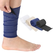 Sports Elastic Band Lifting Compression Leg Support Knee Strap Band Brace support Outdoor comfortable Sport leg protector(China)