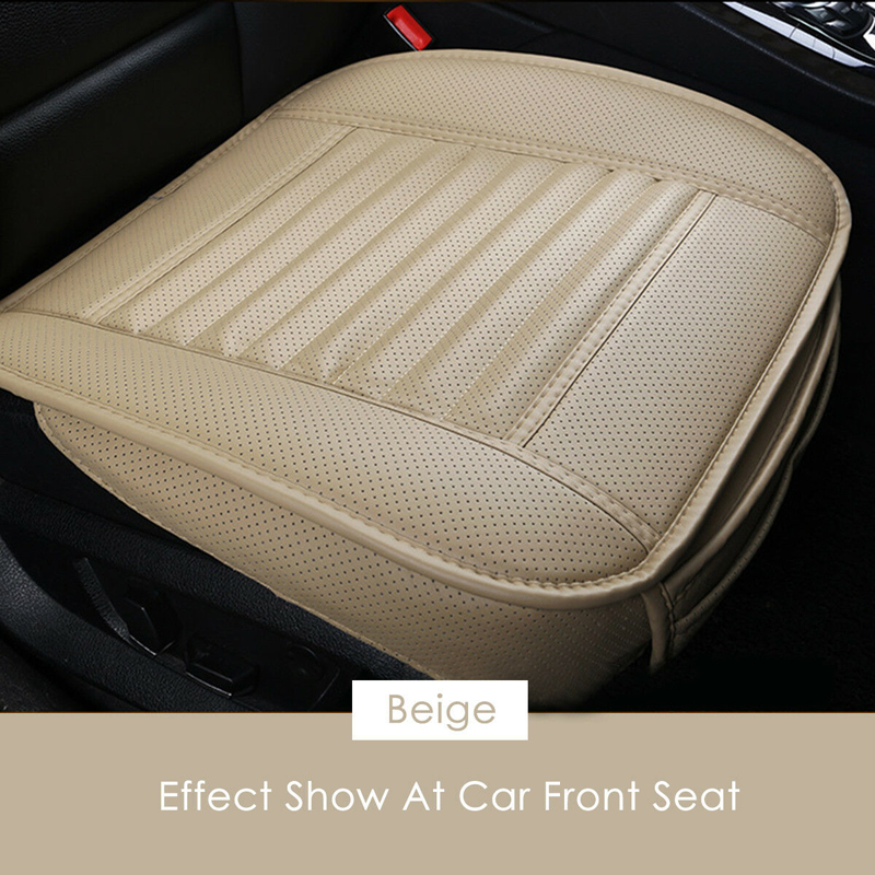 Image 3 - Universal Car Seat Cover Breathable PU Leather Pad Mat For Auto Chair Cushion Car Front Seat Cover Four Seasons Anti Slip Mat-in Automobiles Seat Covers from Automobiles & Motorcycles