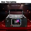 Show Time Mini RGB Full Color Scane Laser Fase di Illuminazione Scanner KTV DJ di Ballo Festa di nozze Mostra Proiettore Luci di Linea