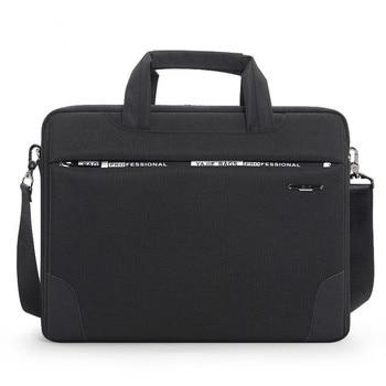 f86136f63 OYIXINGER Mens maletín impermeable Oxford de 15 pulgadas de los hombres de  hombro bolso las mujeres bolso para hombre trabajo de abogado Oficina bolsas