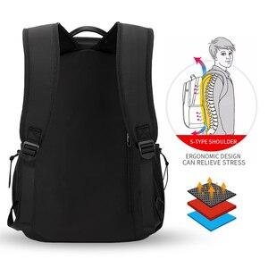 Image 4 - Plecak podróżny Hk plecak Oxford męski materiał Escolar Mochila marka jakości torba na laptopa czarna spersonalizowana moda torba
