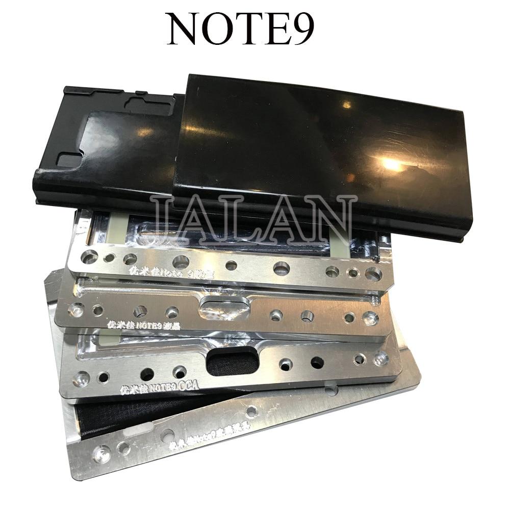 YMJ für samsung Hinweis 9 rand ungebogenen flex form laminieren form LCD touch screen/oca/glas laminieren für handy reparatur