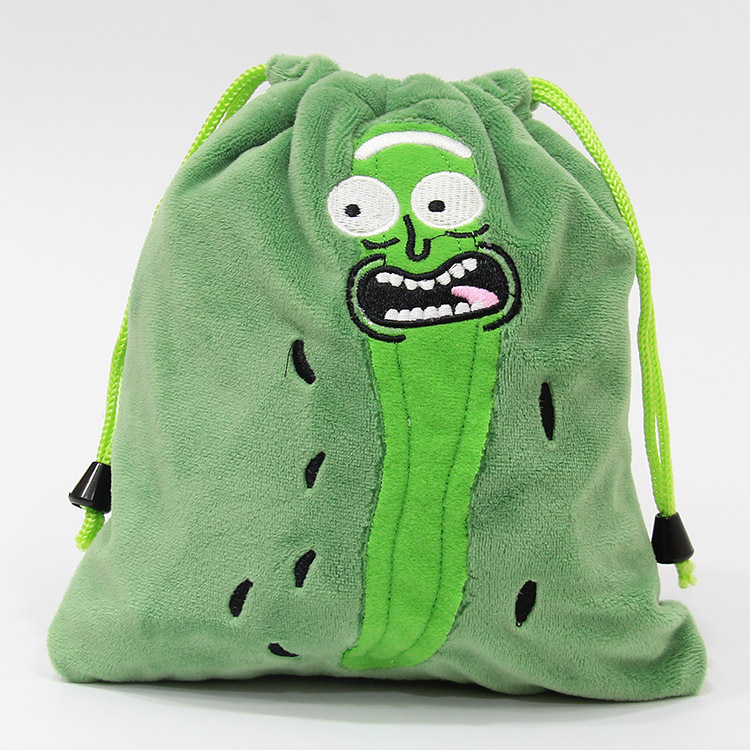 21cmCute Rick and Morty Pickle Rick Pick Rick Cucumber Plush Toy Rick Replacement Storage Toy Baby Baby Anime Character Anime in Plush Purses from Toys Hobbies