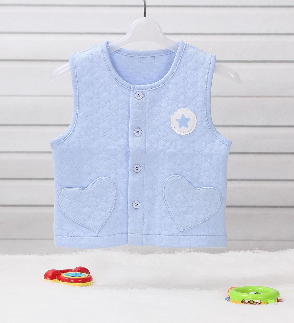 0-2 Tahun Lama Bayi Boy Girl Jaket Jaket Vest Pakaian Luar di Spring - Pakaian bayi - Foto 5