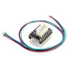 Детали 3d принтера MKS CD 57/86 шаговый двигатель драйвер ток Плата расширения для 3d принтера