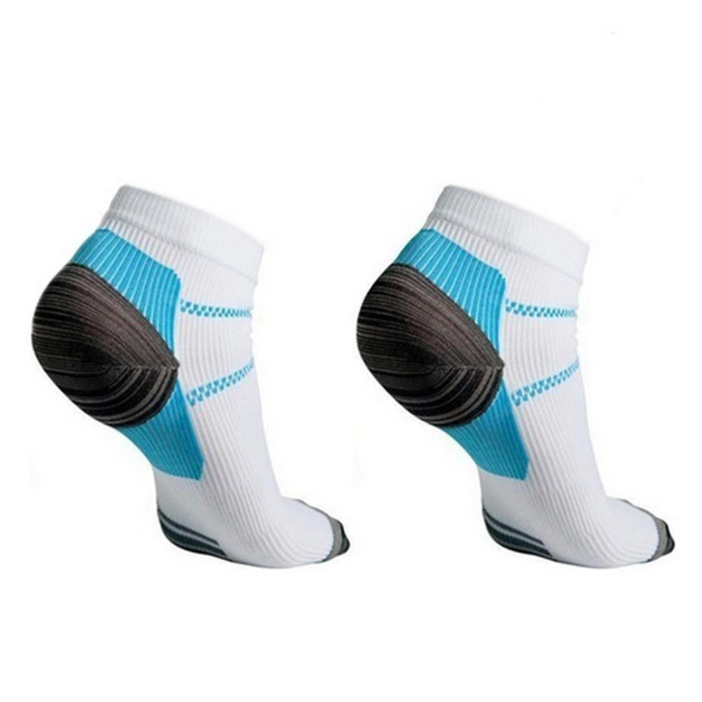 1 Pair Plantar Fasciitis Socks Foot Care Compression Men Women Running Socks Relieve Pain Supports Heel, Arch & Ankle (S/M,L/XL)