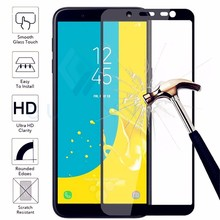 GULYNN 9H Full Cover Tempered Glass For Samsung Galaxy A6 8 J4 J6 Plus Screen Protector Film J3 5 J7 2017 2018
