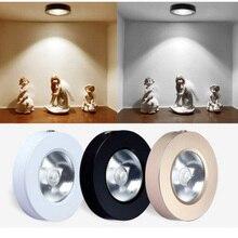 Luz empotrada montada en la superficie, 5W/10W, foco led para armario de vino, luz de techo, mostrador, luz para sala de estar