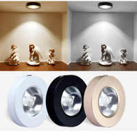 Surface mounted COB downlight 5W/10W led wine cabinet spotlight ceiling light show counter living room light from hole