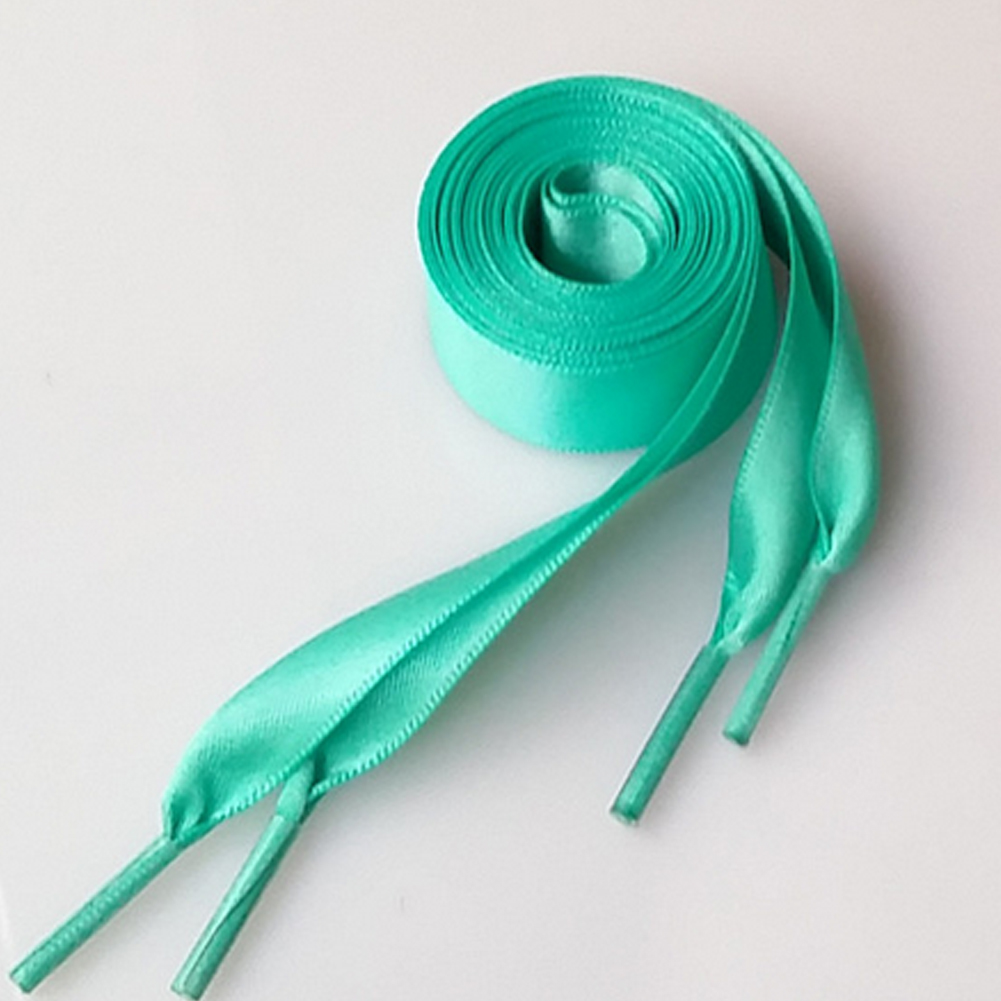 Wholesale 1Pair 2CM Wide various colors Flat Shoelaces Ribbon Satin Laces shoelaces Drop ShippingWholesale 1Pair 2CM Wide various colors Flat Shoelaces Ribbon Satin Laces shoelaces Drop Shipping