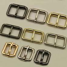 DIY Metal Heavy Duty Hand Bag Shoe Strap Belt Web Adjust Roller Pin Buckle Snap Rectangle Ring Leather Craft Repair Thickness(China)