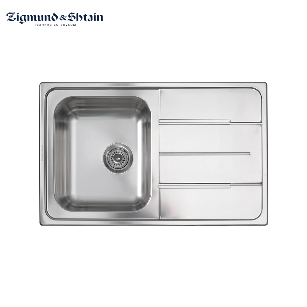 Kitchen Sinks Zigmund&Shtain Rechteck 790.8 polished Home Improvement Kitchen Fixture Washing wash basin sink