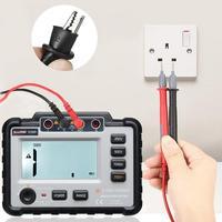 LCD Backlight VC60B Digital Insulation Resistance Tester Megger MegOhm Meter High Voltage Short Circuit Input Alarm Multimeter