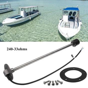 400mm poziomu wody nadawcy Boat Marine samochodów ciężarówka Fue l czujnik wody KUS 240-33ohms IP67 normy SAE 5 otwór wzór długi okres użytkowania tanie i dobre opinie Autoleader Zbiorniki paliwa 42cm other Fuel Water Sensor 293g Metal+Rubber Long using life