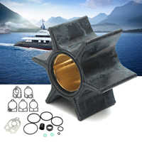 47-89983Q1 89983T2 Water Pump Impeller Repair Kit for Mercury Outboard 30-70HP Rubber+Metal 6 Blades Diameter 6cm Boat Parts