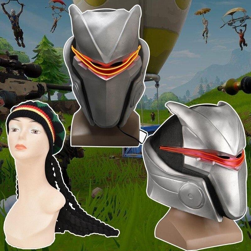 Fortnited Train Dragon The Nightmare Before Christmas Cosplay Mask Hero Academia Costume Halloween Royal Guard Helmet Jamaica
