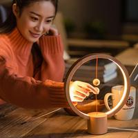 Smart LED Night Light USB Powered Desk Light Heng Balance Lamp For Indoor Bedroom Decoration Lights Gift Choice