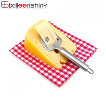 BalleenShiny Stainless Steel Cheese Slicers Hand Kitchen Butter Potato Slicer Pizza Cake Pie Cutting Baking Pastry Gadgets