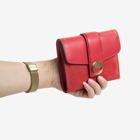 Female Wallet Cowhide Wallet Woman Best Quality 2019 New Pattern Fashion Genuine Real Leather Hand Take Pocket For Ladies