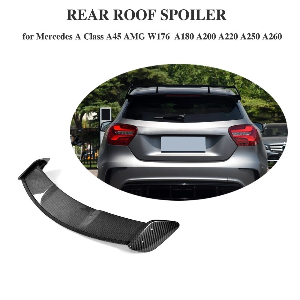 Rear Wing Roof Spoiler For Mercedes Benz A180 A200 A250