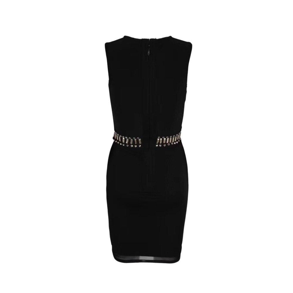 Élégant O Lacée Top Pour Les Sexy Cou Fête Designer Femmes Robe De Tenue Noir Perles 2019 Qualité E00qrwv