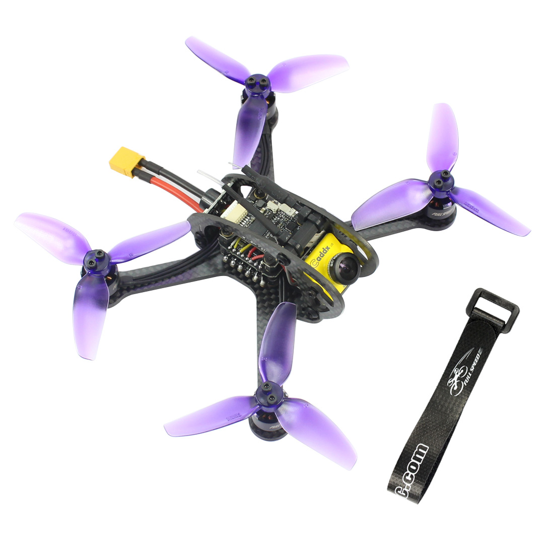 Leader 3SE/ 3 130mm <font><b>FPV</b></font> RC Helicopter <font><b>Mini</b></font> Quadcopter F4 OSD 28A BLHeli_S 48CH 600mW Caddx Micro F1 PNP /BNF for FRSKY FLYSKY image