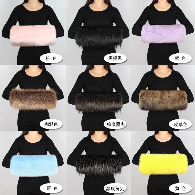 P0193 Mannen En Vrouwen Trends Winter Grote Maat En Dikke Imitatie Bont Warm Kussen Warme Hand Covers De Hand Vat Handwarmer