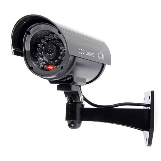 Simulated Surveillance Cameras - Wireless IP Security fake Dummy IR LED cameras - Night/Day Vision Look, Weatherproof bullet hSimulated Surveillance Cameras - Wireless IP Security fake Dummy IR LED cameras - Night/Day Vision Look, Weatherproof bullet h