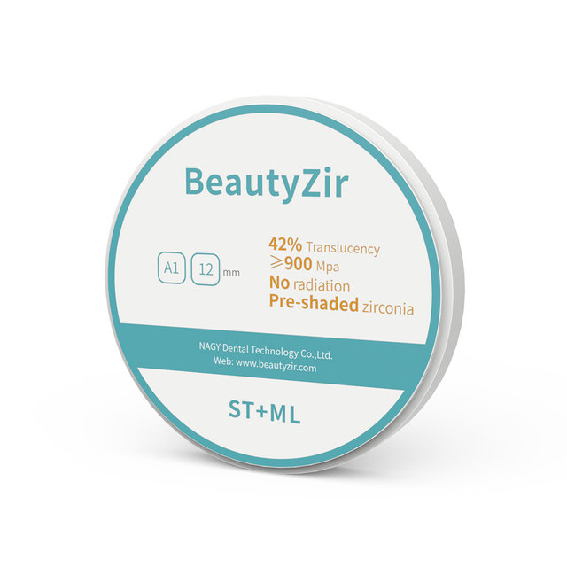 multilayer zirconia blocks OD95mm/OD98mm for wieland/zirkonzhan cad cam system
