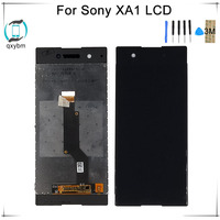 6.0 Inch Display for SONY Xperia XA1 LCD Touch Screen LCD for SONY XPERIA XA1 Display G3112 G3116 G3121 with 3M Sticker