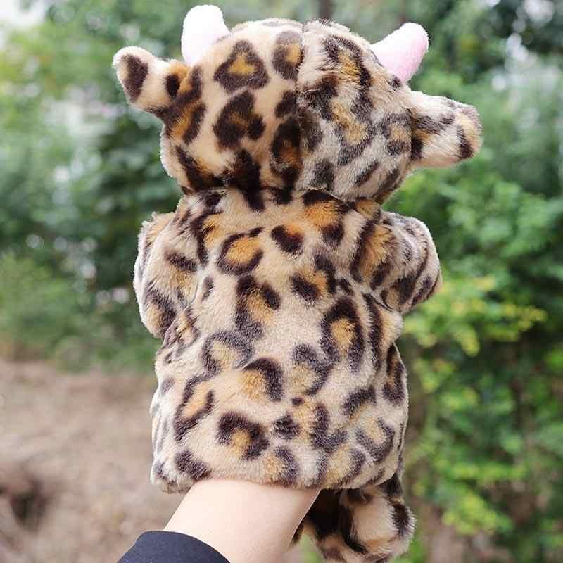 Детское милое животное ручная марионетка, Забавный медведь, плюшевая обезьянка, Ручные куклы, игрушка для детей, Обучающие Мягкие игрушки, пальчиковые куклы для детей