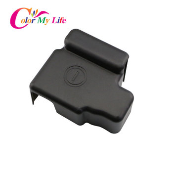 Car Engine Battery Negative Clip Cover for Honda HRV HR-V Vezel 2014 - 2017 ABS Black Protector Covers Accessories image