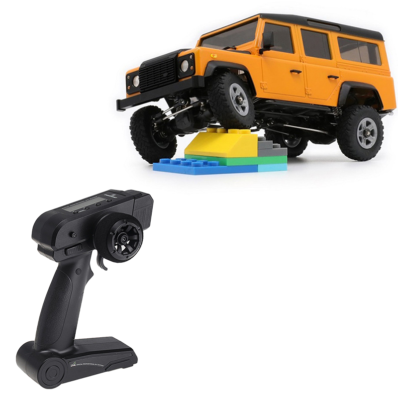 Original Orlandoo-Hunter OH32A03 1/32 DIY Kit Unpainted RC <font><b>Car</b></font> Rock Crawler w/ <font><b>Electronic</b></font> RC Parts RC Toys for <font><b>Kids</b></font> image