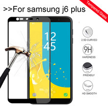 For Samsung Galaxy J6 Plus glass Tempered Glass For Samsung J6 Plus 2018 J610FN SM-J610FN J610 J 6 Film Cover Protective film(China)