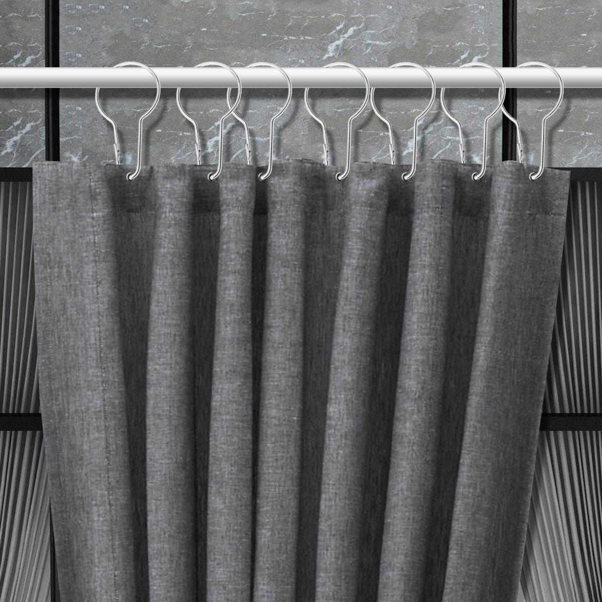 Window Curtain 8Pcs Melarosa Yellow High Quality Scarf Sheer shower Curtain set