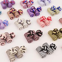 2018 New Chinese Knot Rope Cufflinks for Mens Jewelry Fashion Shirt Cuff links Buttons Men Formal Accessories Gift for Husband(China)