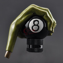 цена на Universal Car Gear Shift Knob Styling Ghost Hand Gear Stick Shift Lever Knobs Resin Gear Shifter