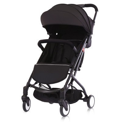 baby strollers ultra-lightweight folding can sit can lie high landscape umbrella baby pram summer and winter цена