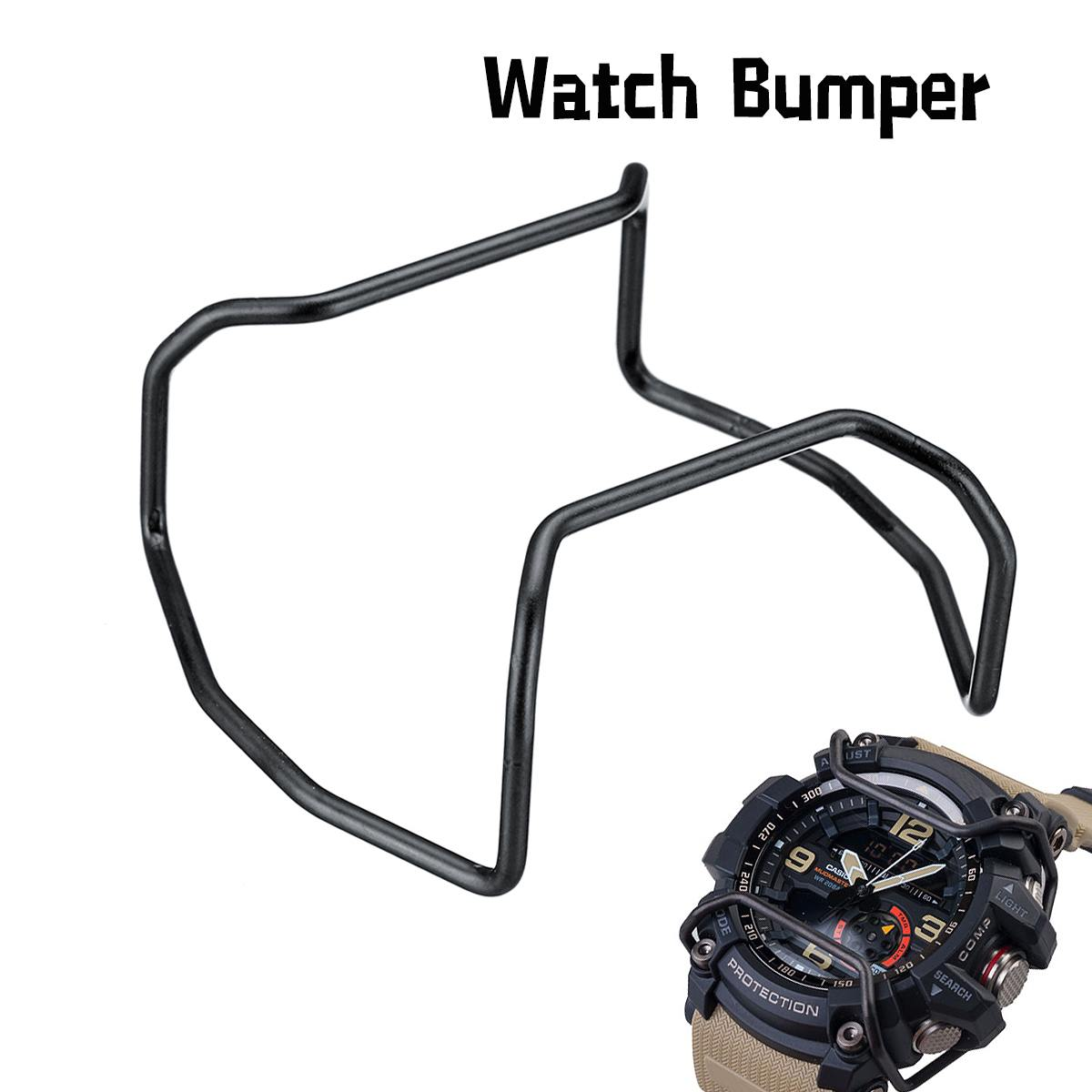 1Pc Matte Black Watch Bumper Case Protector Wire Guards