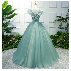 Image 3 - Party Art Performance Stage Solo Costume Chorus Dress Embroidered Dames Couture Noble Elegant Gown Birthday
