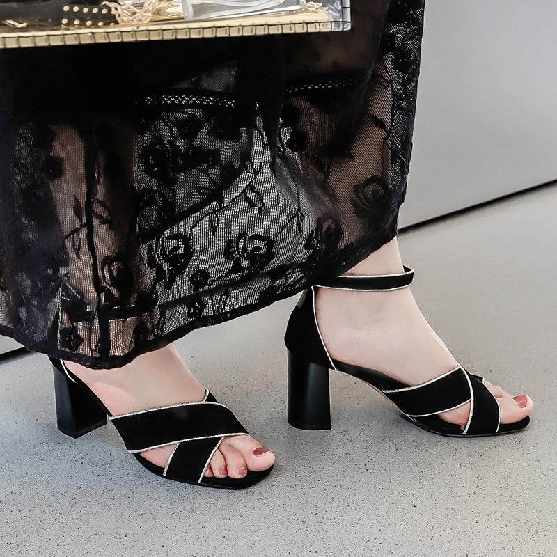 Piste Été Femmes Chaussures as Plage Sandalia Mariage De Clouté Talons Cristal Spike Praty Sexy As Show Sandales Feminina Show SzqVGUMp