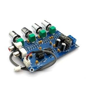 Image 3 - NE5532 Stereo Pre amp Preamplifier Tone Board Audio 4 Channels Amplifier Module 4CH CH Control Circuit Telephone Preamp