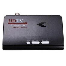 スマートテレビボックス米国のプラグイン 1080 1080P Hd Dvb T2/T Tv ボックス Hdmi の Usb の Vga Av チューナー受信機デジタルセットトップボックス