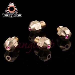 Image 4 - Trianglelab MK8 rubi bico 1.75 MILÍMETROS Compatível com especial de alta temperatura materiais PEEK PEI PETG ABS NYLON etc bocal ruby